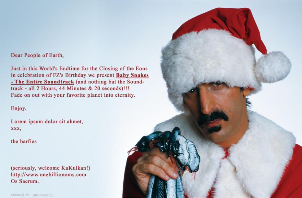 Frank Zappa Re Utgis Side 2
