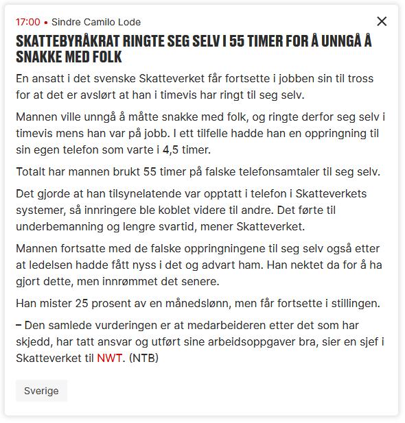 2021-09-22 19_31_50-Skattebyråkrat ringte seg selv i 55 timer for å unngå å snakke med folk – ...png
