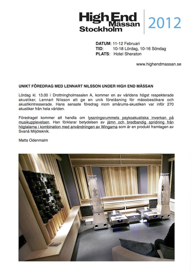 high end slampa oskyddad i Stockholm