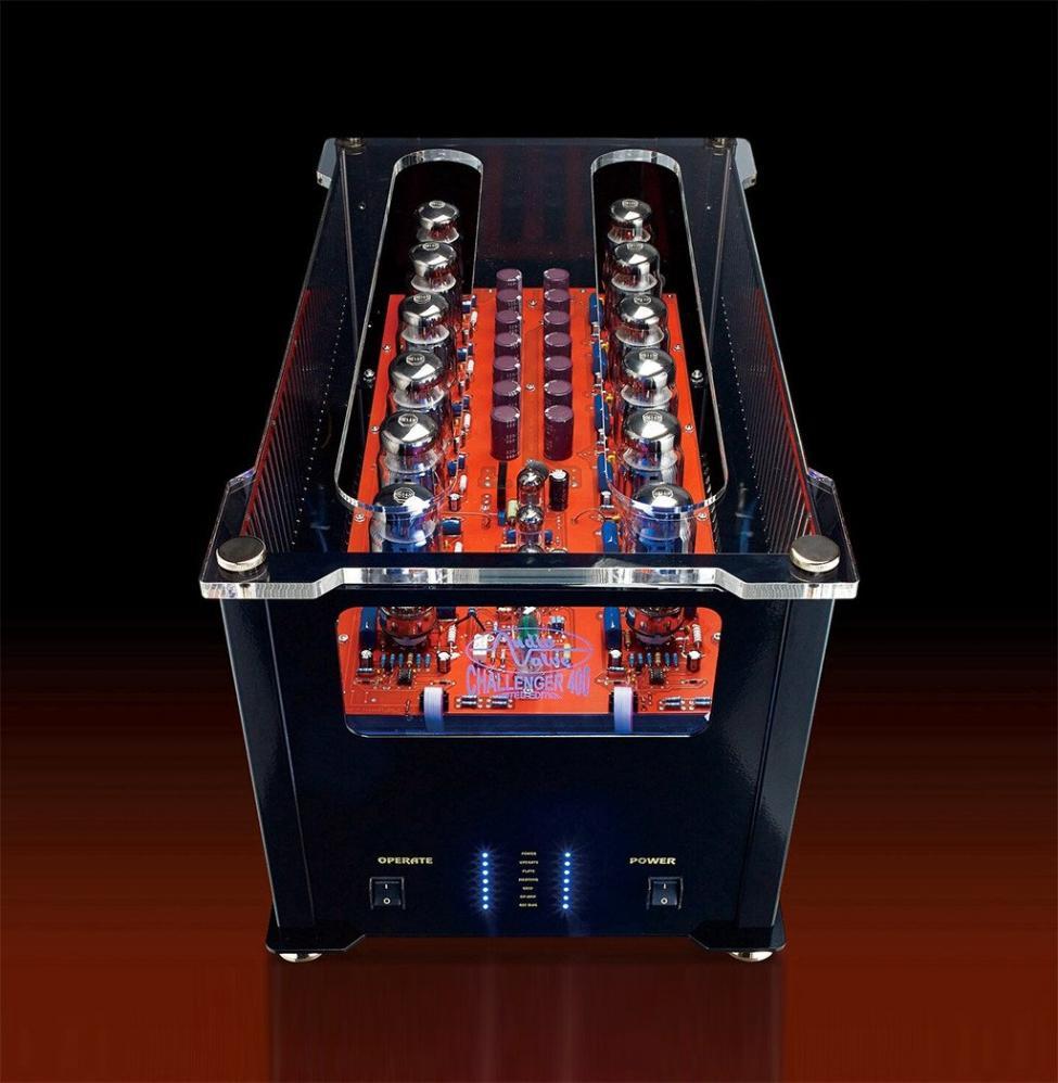 Navn:      Audio Valve Challenger 400, front.jpg Visninger: 449 Størrelse: 90.1 Kb