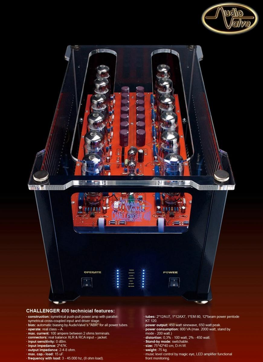Navn:      Audio Valve Challenger 400.jpg Visninger: 819 Størrelse: 126.6 Kb