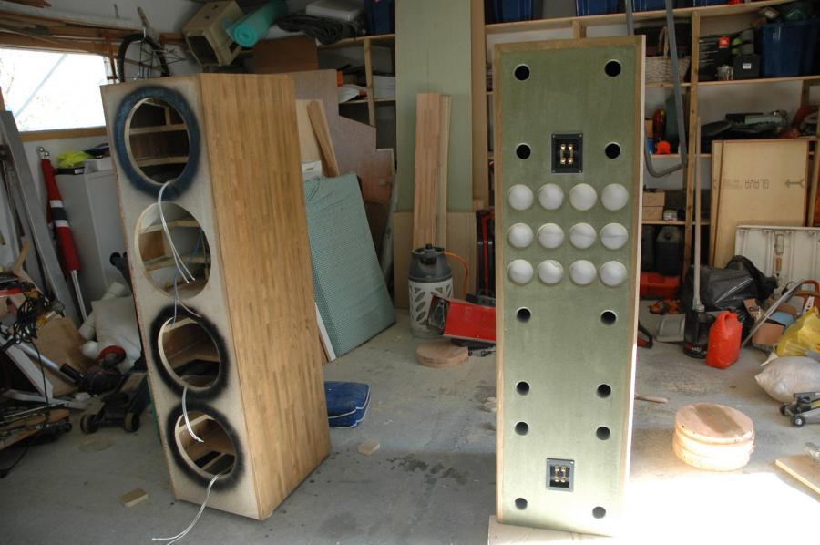 Bygge høyttaler