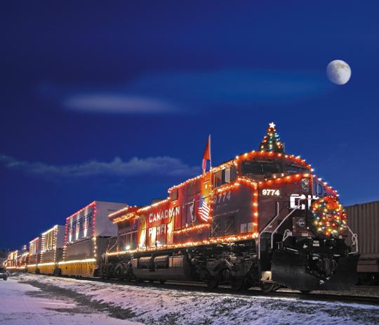 choo choo all aboard the christmas hype train - The Christmas Train