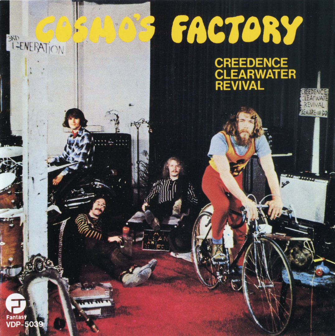 Creedence Clearwater Revival - Cosmo`s Factory. Fantasy VDP 5039. 1986.jpg