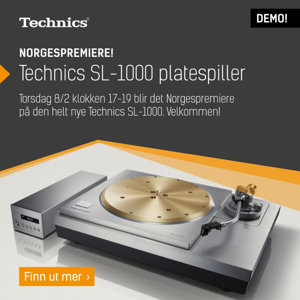 Navn:      Demokveld_technics_sl1000_instagram.jpg Visninger: 957 Størrelse: 73.8 Kb