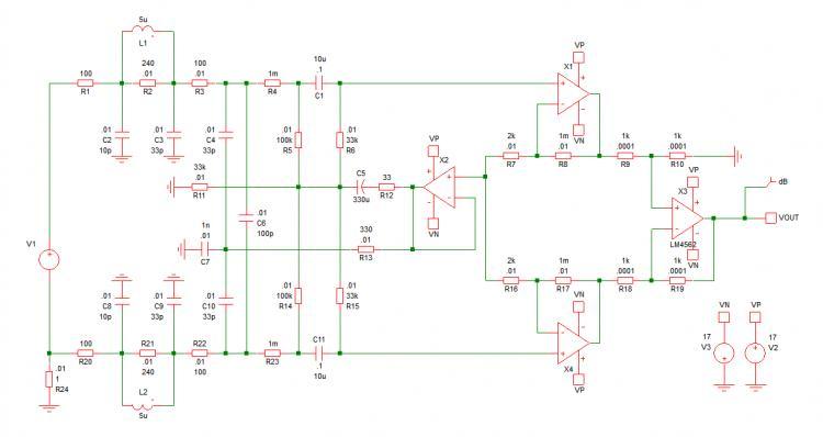 hekte høy input amp