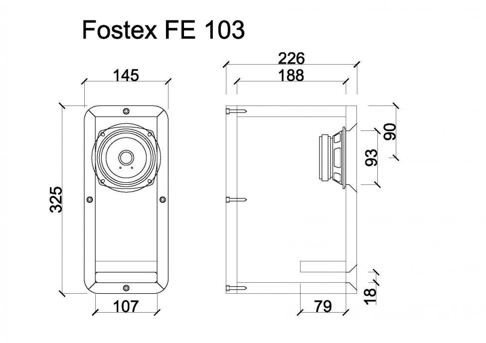 Navn:      Fostex FE 103.jpg Visninger: 4315 Størrelse: 45.2 Kb