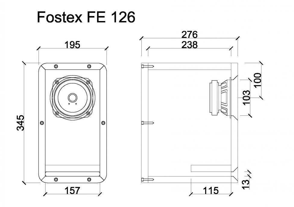 Navn:      Fostex FE 126.jpg Visninger: 4251 Størrelse: 50.5 Kb