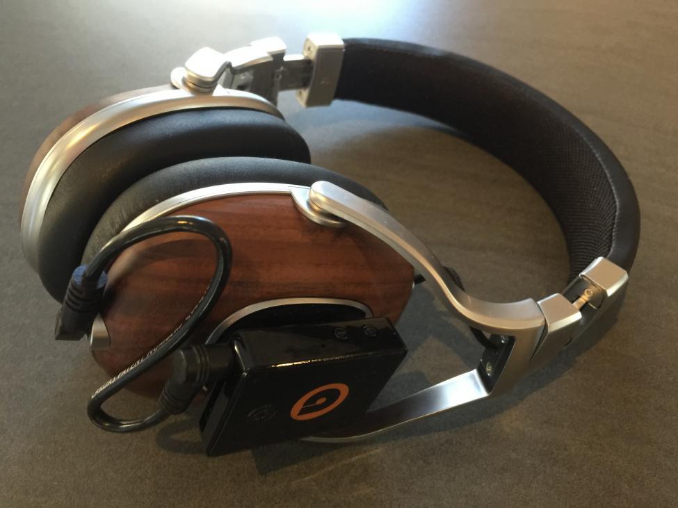 øretelefoner med støydemping test