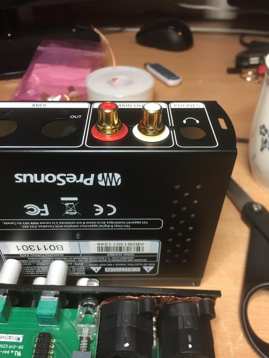 Digitale avspillere PreSonus AudioBox 22VSL som HiFi DAC