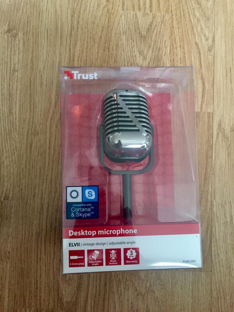 Trust Elvii Vintage Mikrofon | Multicom