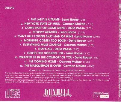 Navn:      Jazzy Ladies - Lena Horne, Carmen McRae, Della Reese_Back_2.jpg Visninger: 619 Størrelse: 47.3 Kb