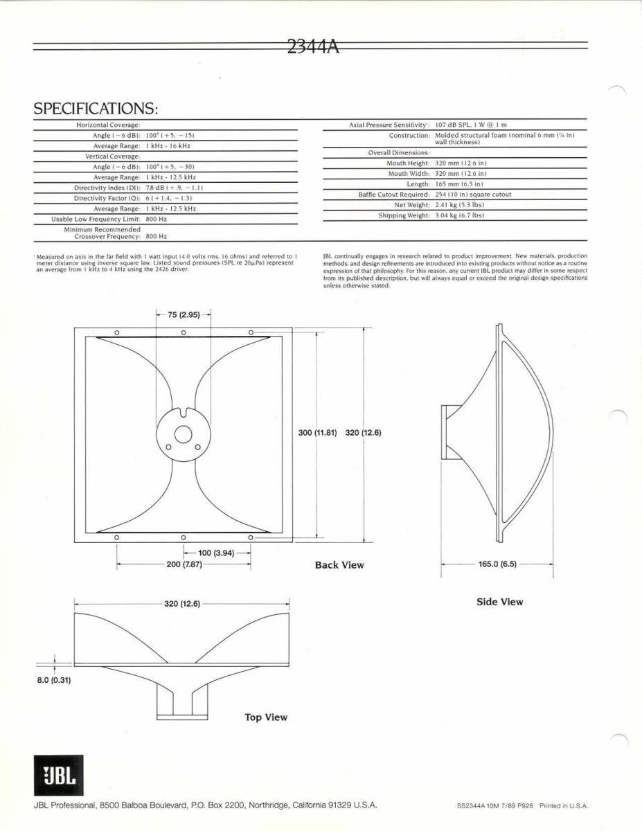 Navn:      JBL 2342 Horn page4.jpg Visninger: 529 Størrelse: 92.0 Kb