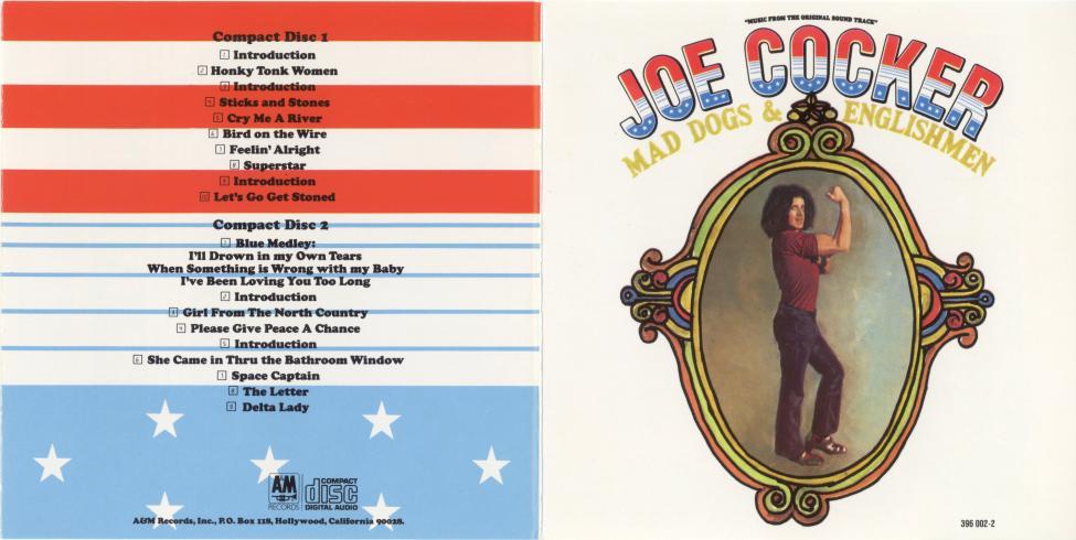 Navn:      Joe Cocker - Mad Dogs & Englishmen. A&M Records 396 002-2.jpg Visninger: 3895 Størrelse: 68.6 Kb