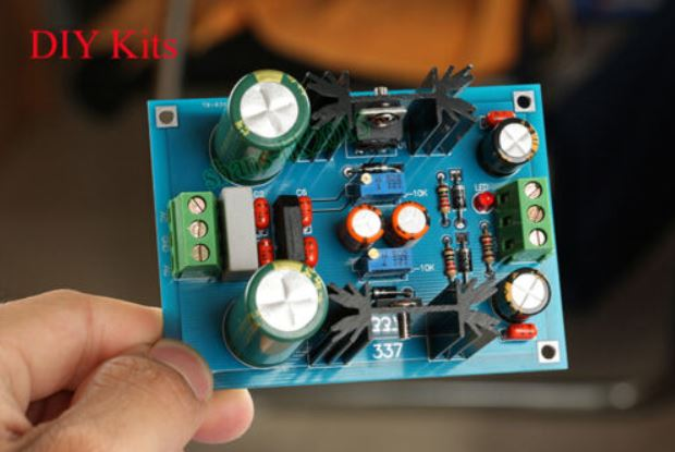 LM317 LM337 Adjustable Filtering Power Supply AC-DC Voltage Regulator PSU Kits.JPG