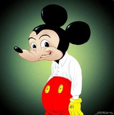 angrerett slikke mus