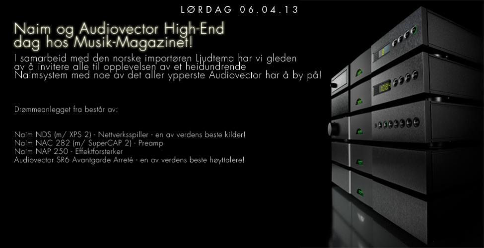 Navn:      Naim+ Audiovector demodag 0604.jpg Visninger: 348 Størrelse: 47.1 Kb