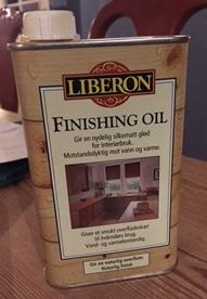 Liberon olje benkeplate