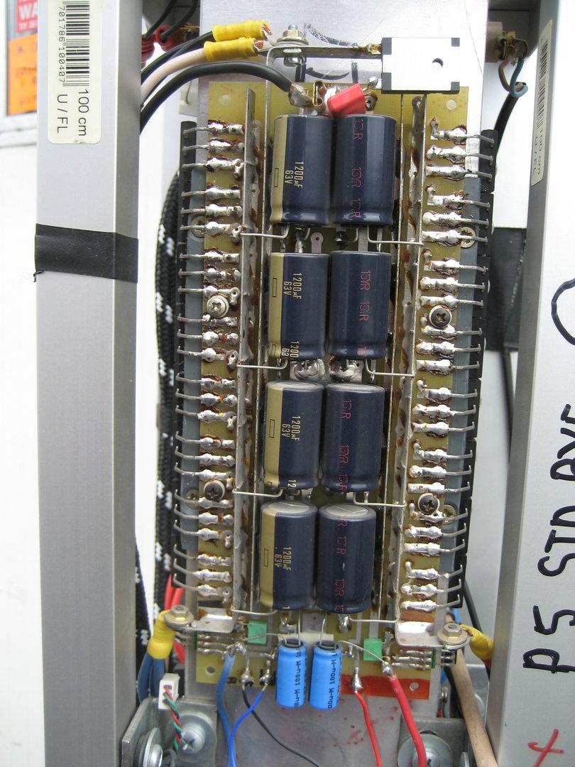 PCB  side  half output stage ribbon 100w klA.JPG