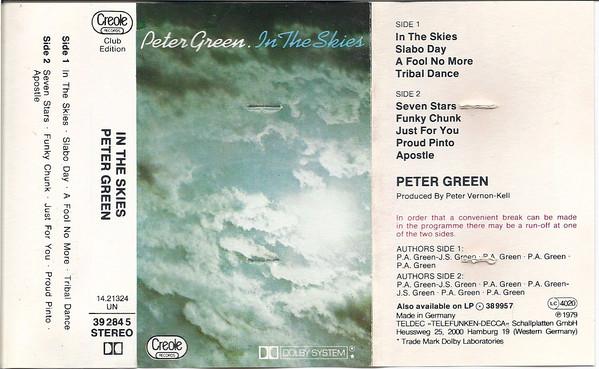 Peter Green In the skies cover.jpg