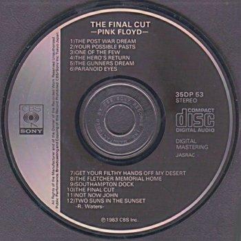 Navn:      Pink Floyd - The Final Cut. Japan 1st pressing 35DP-53.jpg Visninger: 4972 Størrelse: 28.0 Kb