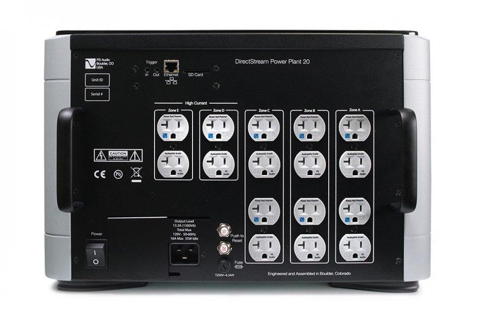 Navn:      PS Audio Power Plant P20, bak.jpg Visninger: 489 Størrelse: 85.4 Kb