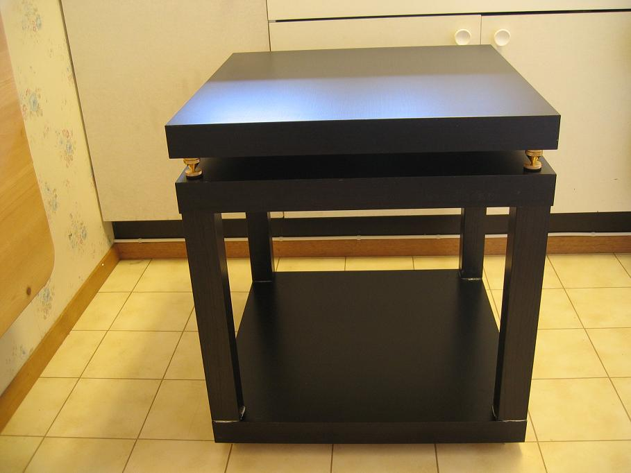 stabilt rack basert p ikea elementer. Black Bedroom Furniture Sets. Home Design Ideas