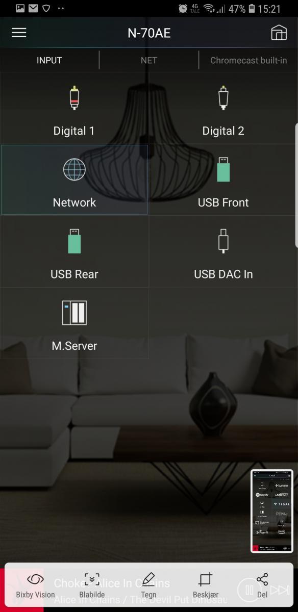 Navn:      Screenshot_20181218-152142_Pioneer Remote App.jpg Visninger: 405 Størrelse: 50.1 Kb