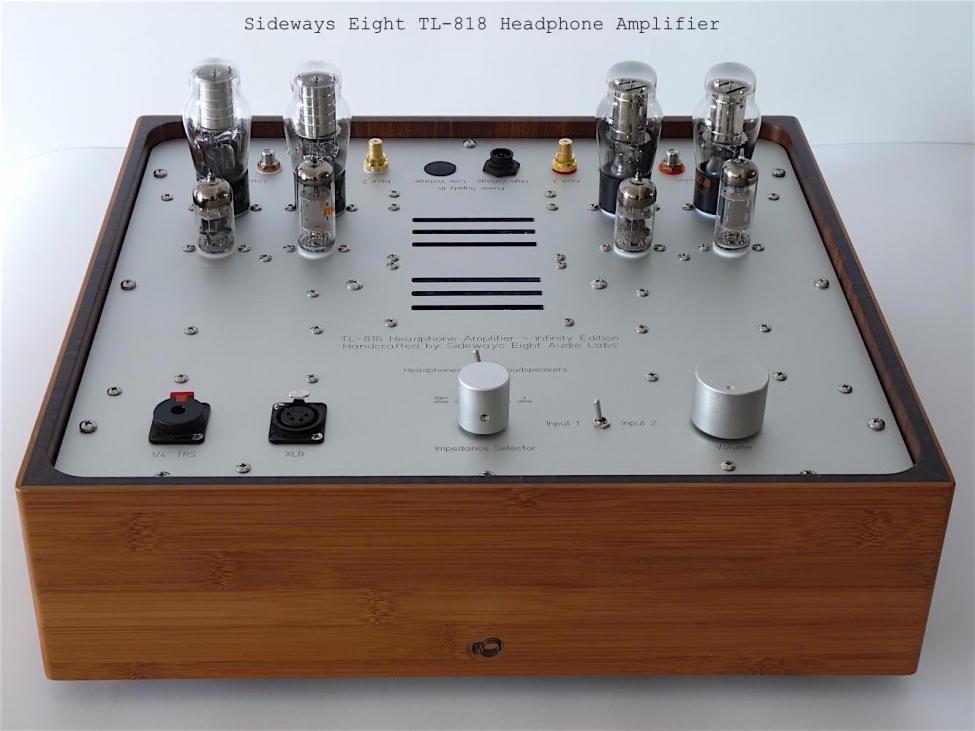 Navn:      Sideways Eight TL-818 Headphone Amplifier.jpg Visninger: 326 Størrelse: 68.3 Kb