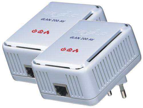Nettverksadapter strømnettet