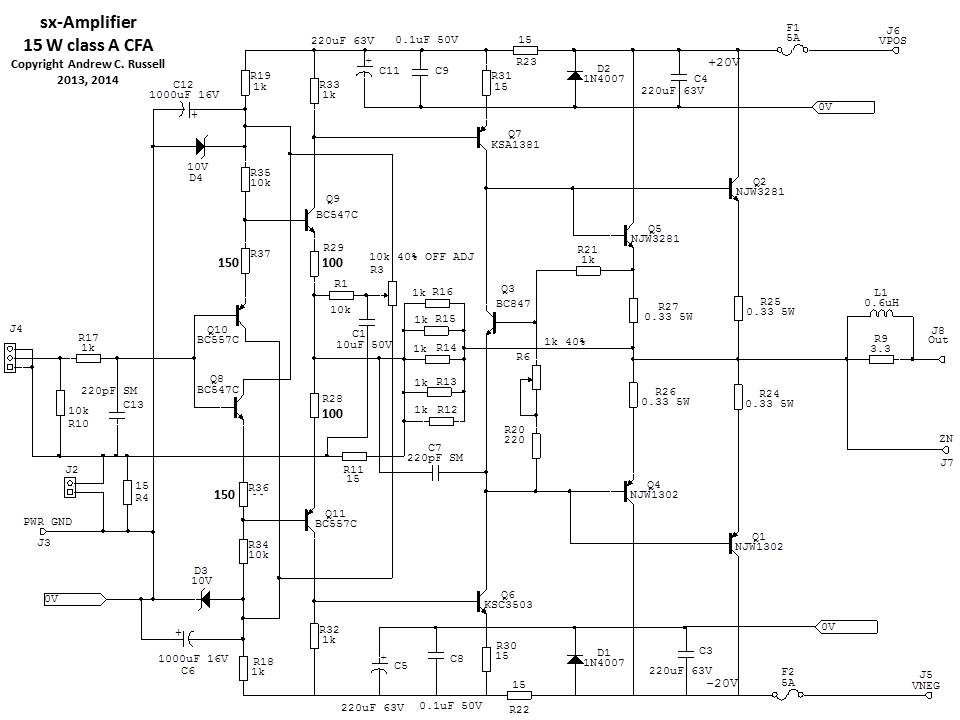 Navn:      sx-Amplifer-Circuit.jpg Visninger: 1973 Størrelse: 75.6 Kb