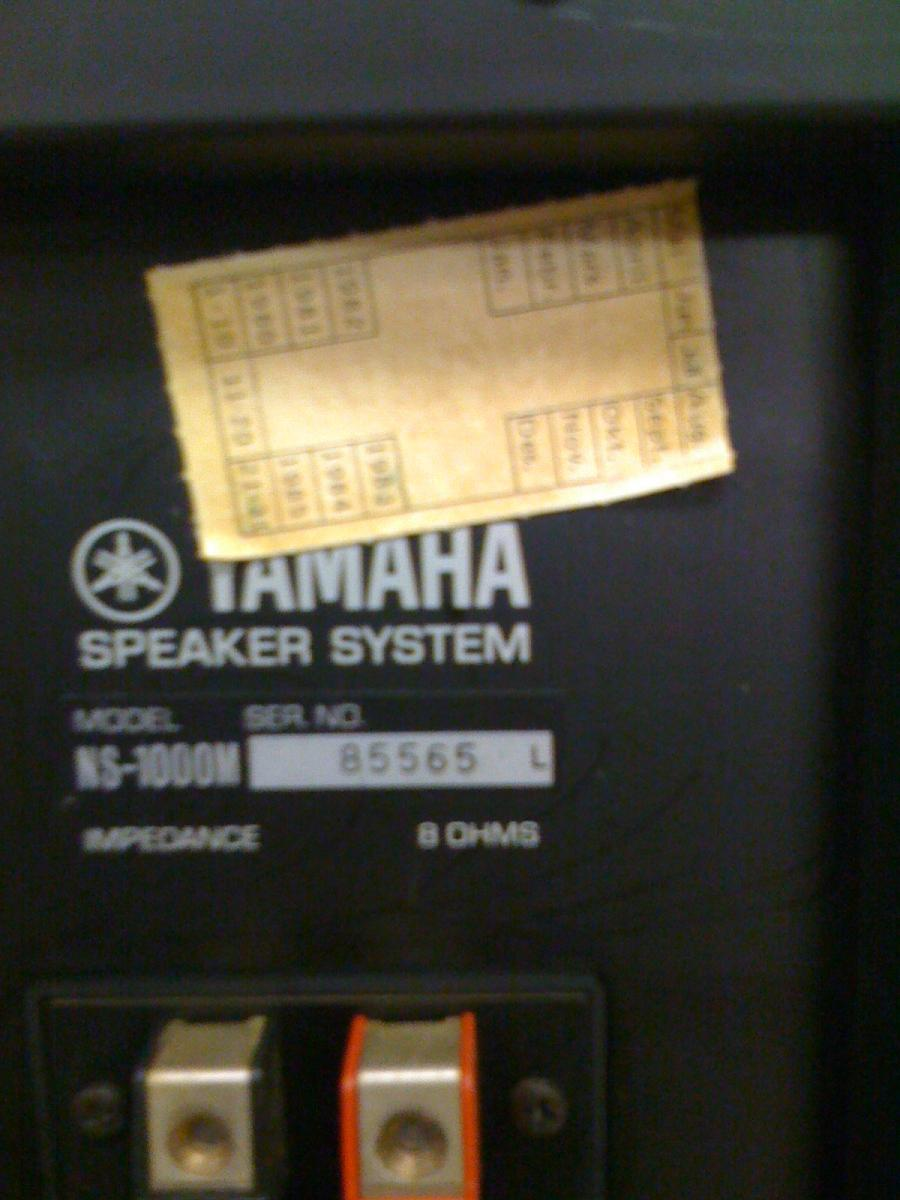 Navn:      Yamaha NS-1000N 006.jpg Visninger: 1561 Størrelse: 94.9 Kb